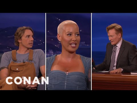 Amber Rose Helps Conan & Dax Shepard Swap Wives - CONAN on ...