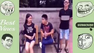 Chinese Funny Videos   Prank Chinese 2016 #5   YouTube