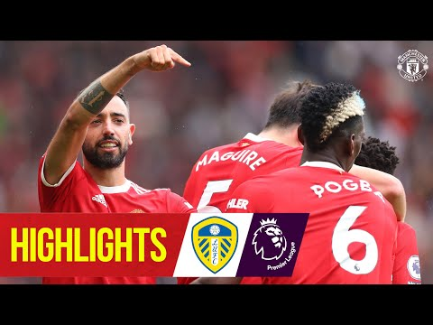 Bruno and Pogba star in five-star United win against Leeds |  Manchester United 5-1 Leeds |  Reflexes