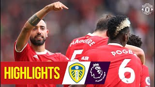 Bruno and Pogba star as five star United beat Leeds | Manchester United 5-1 Leeds