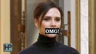 Victoria Beckham caught SMILING!!!!!