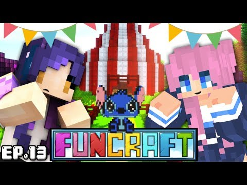 Visiting Lizzie's Weird Circus?! | FunCraft Ep. 13 from YouTube · Duration:  15 minutes 26 seconds