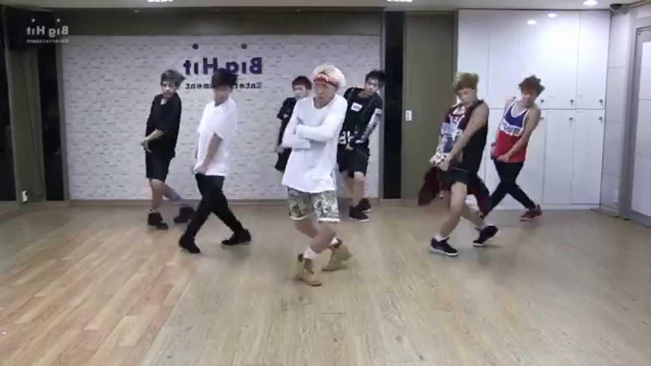 Bts 방탄소년단 Quot Danger Quot Dance Practice Ver Mirrored