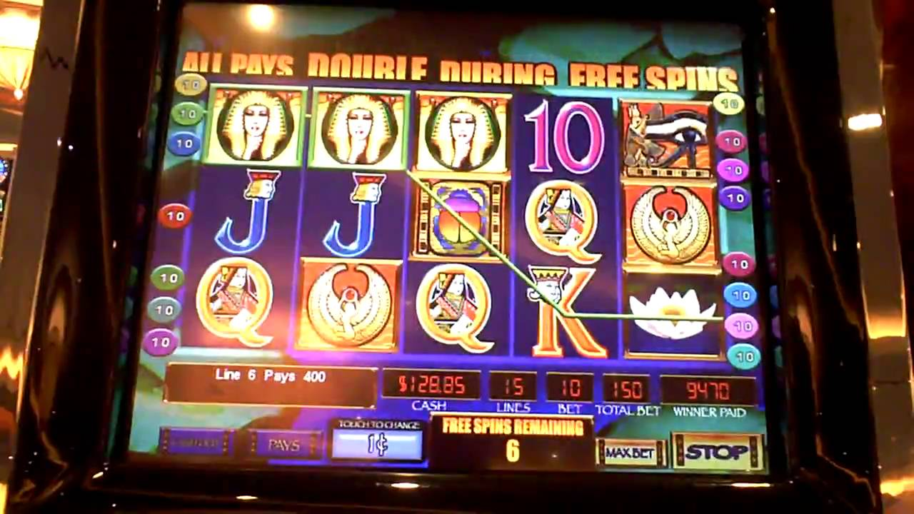 Secrets of the nile slot machine play skill games for money