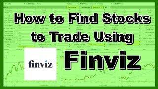 How to Buy The Dip in Stocks Using FinViz / how to buy the