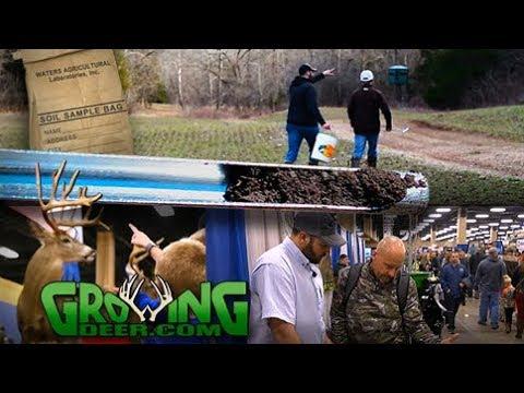 "Tips to Improve Hunting Properties | Soil Samples ""How To"" (#431) @GrowingDeer.tv"