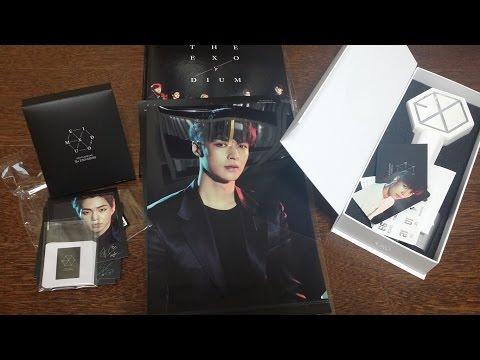 [K-POP Unboxing] EXO'rDIUM in Seoul Concert Goods