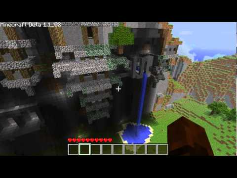 how to add distance indicator minecraft