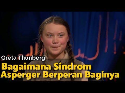Greta Thunberg Tentang Bagaimana Sindrom Asperger Membantunya | Skavlan (2018)