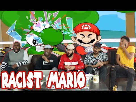 If Mario Kart Was Rated M! Racist Mario Reaction/Review