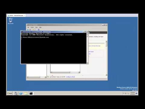 Installing A Domain Controller - Best Practices For Windows Server 2008 R2
