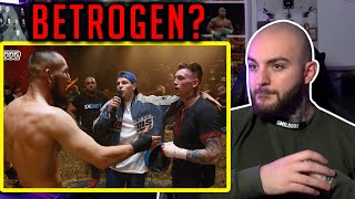 FEHLURTEIL?! Bagdad der Kasache vs. Max VDV - TOP DOG FC 7 - RINGLIFE reaction