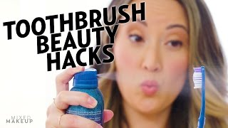 6 toothbrush beauty hacks you need to try   the cut with susan yara