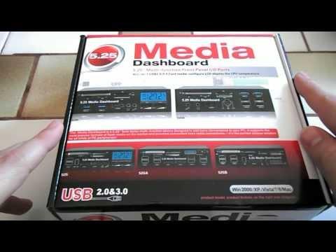 Bay Multiports USB 3.0 Lecteur de cartes SD / CF - Tinydeal