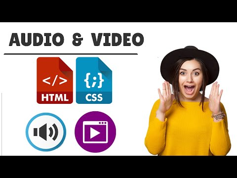 Audio Tag Video Tag In HTML | How To Use It #18