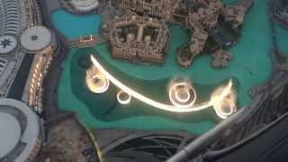 Dubai Mall Musical fountain