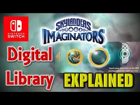Nintendo Switch - Skylanders Imaginators: Digital Library - How it Works!