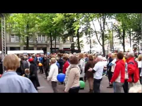 EPDA 1st European Unity Walk 2012 - Salsa dancing