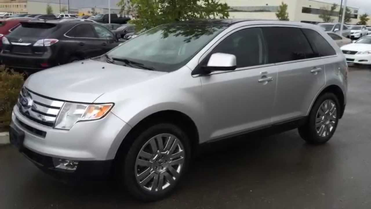 Lexus Pre Owned >> Pre Owned Silver 2010 Ford Edge 4dr Limited AWD Review - Fort Saskatchewan, Alberta, Canada ...