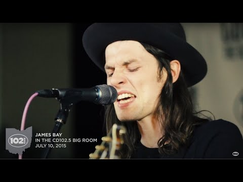 "James Bay ""Craving"" Live in the CD102.5 Big Room"