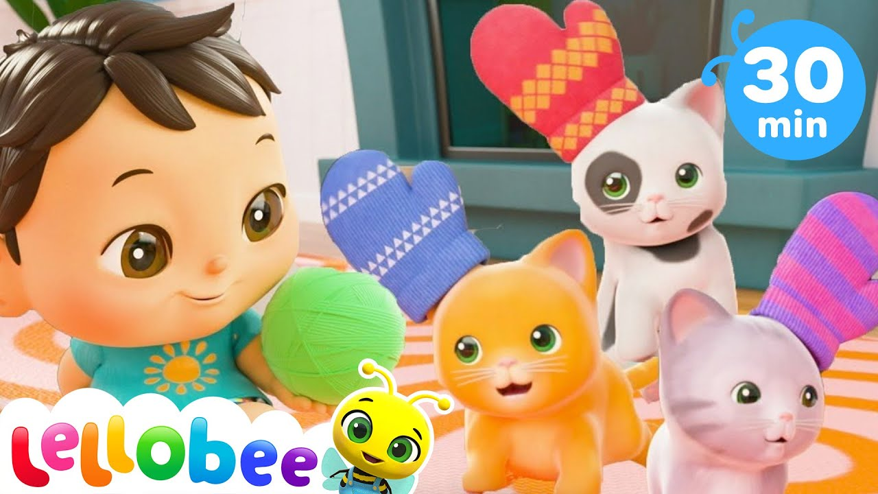 Three Little Kittens Song   Nursery Rhymes and Kids Songs   Baby Songs   Little Baby Bum