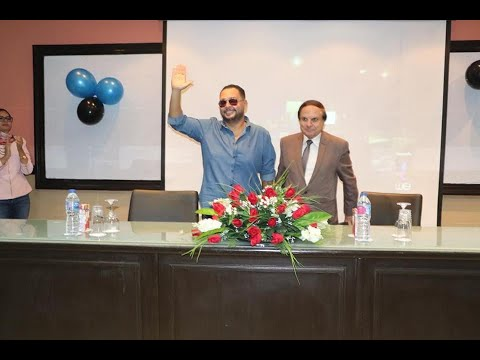 Faculty Of Mass Communication Hosts Ahmed Rizk