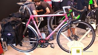2016 Tommasini Sintesi Touring Bike - Walkaround - 2015 Eurobike