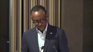 Shaping Africa's Agenda in the Global Context | Remarks by President Kagame | Davos, 23 January 2019