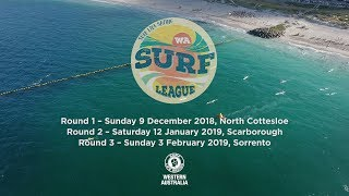 2018/19 WA Surf League R1 | North Cottesloe Beach