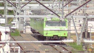 【奈良電車区の様子】 2018年10月13日