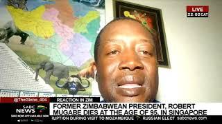 The mood in Zimbabwe following the passing of Mugabe: Ephert Musekiwa
