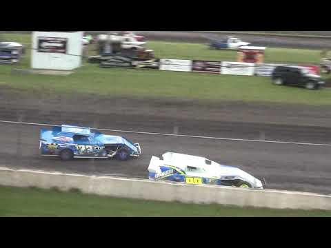 IMCA Sport Mod Heat 3 Benton County Speedway 6/9/19