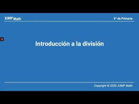 3º. Unidad 5. Introducción a la división