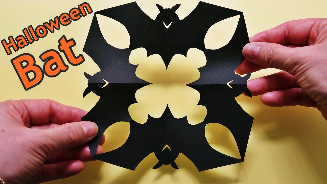 折り紙 コウモリ ハロウィン