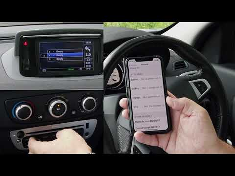 How To Pair A Mobile To The Bluetooth Audio System In A 2012 Renault Megane