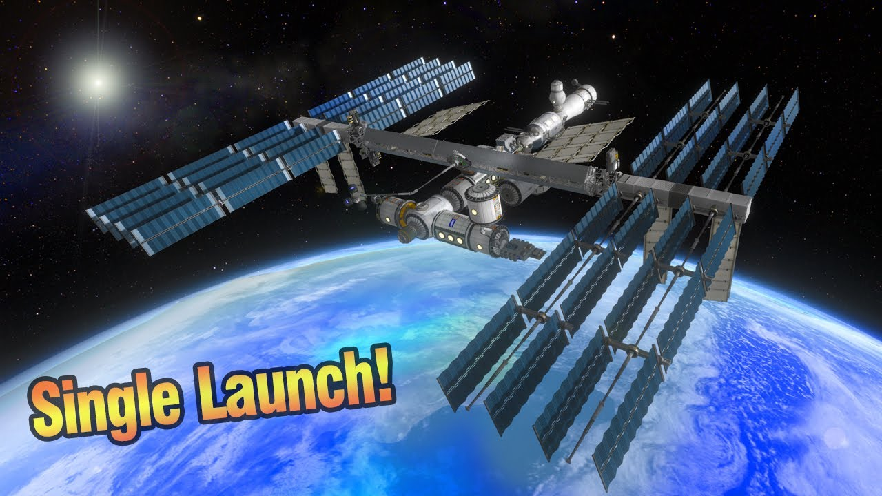 Download KSP: Building the International Space Station in ONE Launch!