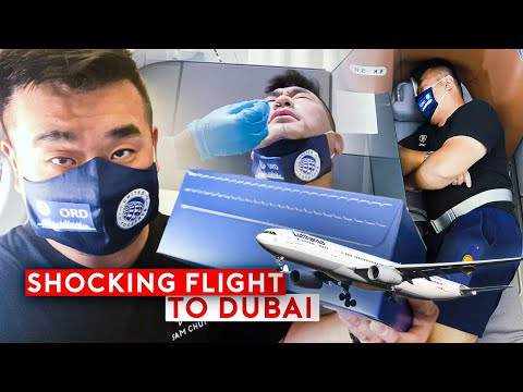 Shocking Lufthansa Business Class Flight to Dubai - Dubai Arrival Procedures