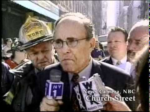 9/11 News Coverage:  9:50 AM: Mayor Giuliani Street Interview