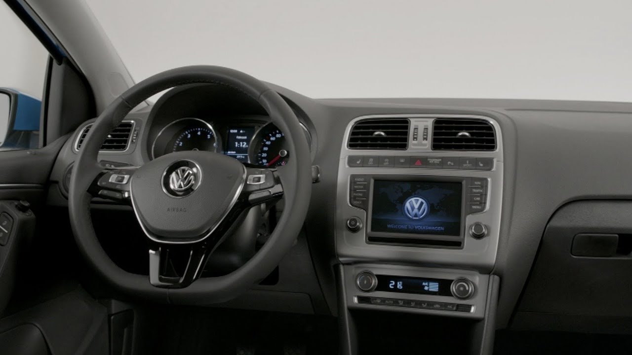 2014 Volkswagen Polo INTERIOR - YouTube
