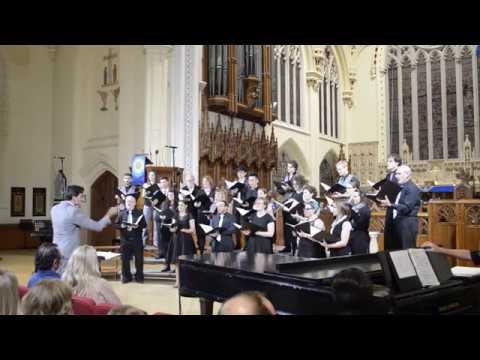 Hamilton Choir Project LIVE | Let the River Run - Carly Simon