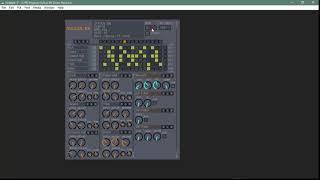 Drum Machine Synthesizer using Pure Data 1