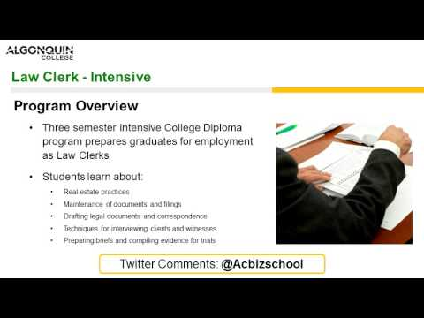 Law Clerk Intensive  - Webinar