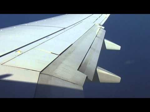 extending flaps on a Boeing 737