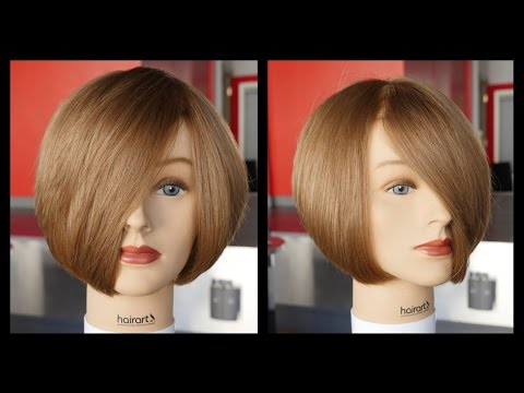 How to cut a Layered Bob - Haircut Tutorial Step by Step - T