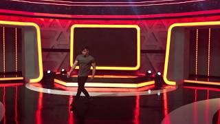 Lê Phạm Thế Vũ tập dợt cho Game Show Người Bí Ẩn 2019
