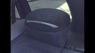 Задние акустические подиумы на шеви ниву своими руками.Фанера+пена+карпет=музыка на Chevrolet Niva.