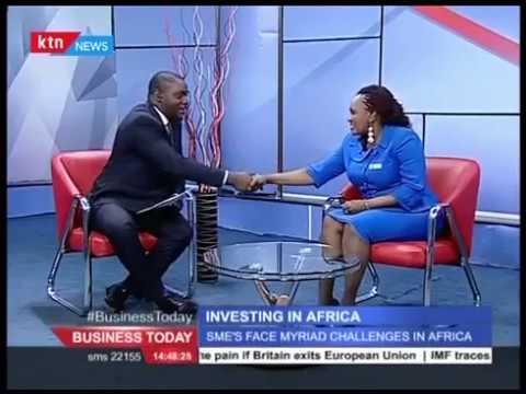 KTN News Interview with Wangechi Muriuki, COO Invest in Africa Kenya