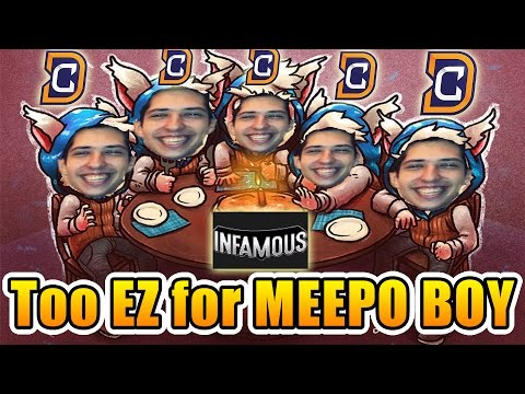 W33 Dota 2 [Meepo] DC vs INFAMOUS - Too EASY for MEEPO BOY