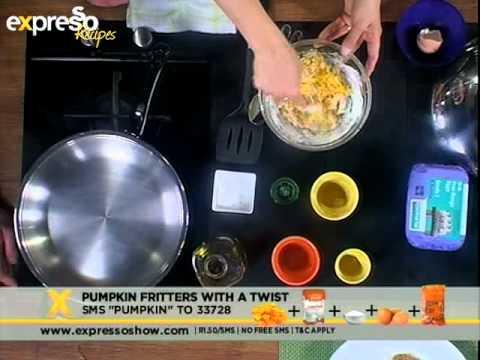 SA Tourism : Pumpkin fritters with a twist (4.10.2012)