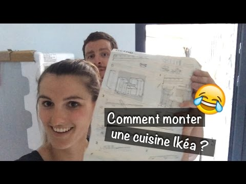 vlog de chantier 29 2 3 comment monter une cuisine ikea youtube. Black Bedroom Furniture Sets. Home Design Ideas